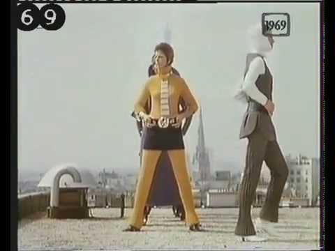 Fashion from 1969 - Pierre Cardin