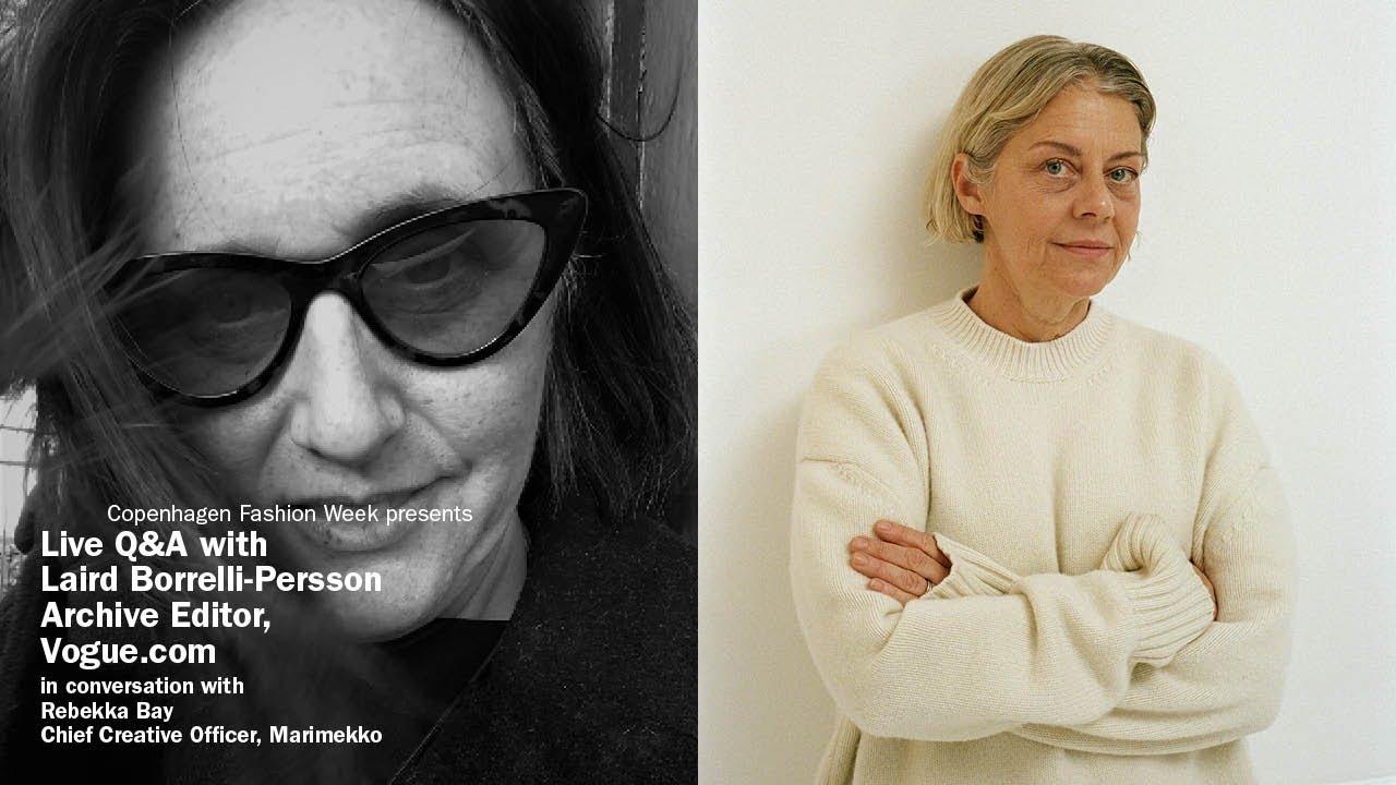 Live Q&A Marimekko and Laird Borrelli-Persson, Vogue.com