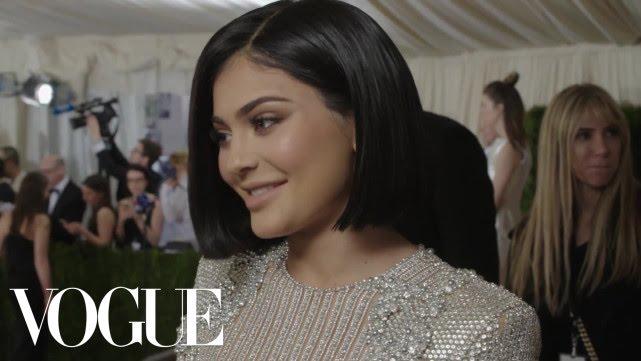 Kylie Jenner on Her First Met Gala   Met Gala 2016